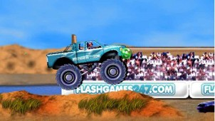 jeux de monster truck 4x4 obstacle